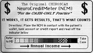 Neuro Credit Meter - Copyright – Stock Photo / Register Mark