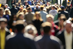crowds - Copyright – Stock Photo / Register Mark