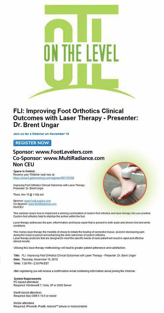Improving Foot Orthotics - Copyright – Stock Photo / Register Mark