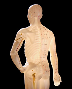 Acupuncture Point - Copyright – Stock Photo / Register Mark