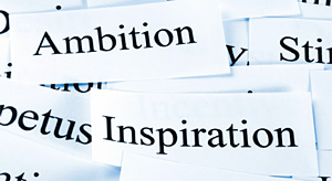 ambition and inspiration - Copyright – Stock Photo / Register Mark