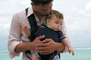 baby wearing - Copyright – Stock Photo / Register Mark