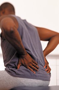 Back Pain - Copyright – Stock Photo / Register Mark