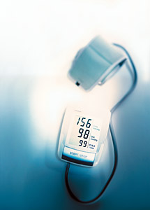 blood pressure machine - Copyright – Stock Photo / Register Mark