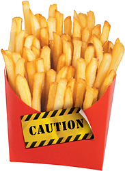 fries - Copyright – Stock Photo / Register Mark