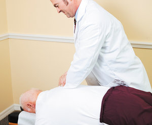 chiropractic - Copyright – Stock Photo / Register Mark