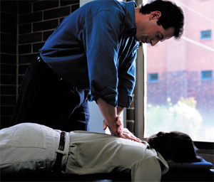 chiropractic adjustment - Copyright – Stock Photo / Register Mark