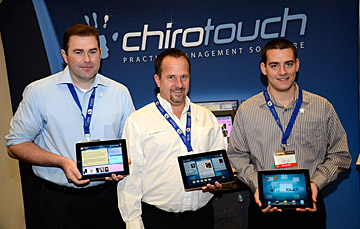 chirotouch ipad - Copyright – Stock Photo / Register Mark