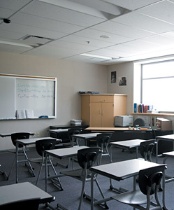 classroom - Copyright – Stock Photo / Register Mark