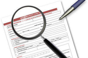 CMS-1500 Claim Form - Copyright – Stock Photo / Register Mark