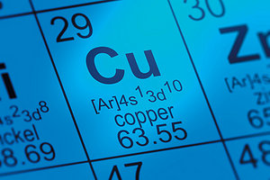 copper - Copyright – Stock Photo / Register Mark