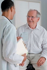doctor and senior patient - Copyright – Stock Photo / Register Mark