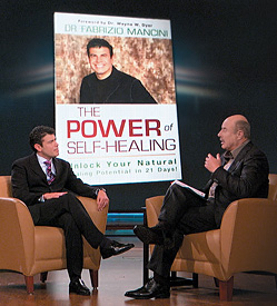 Dr. Phil with Dr. Mancini