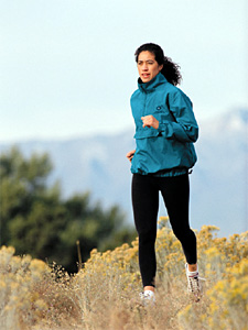 woman jogging - Copyright – Stock Photo / Register Mark