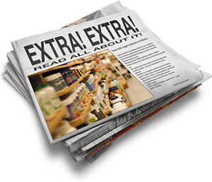 Extra! Extra! - Copyright – Stock Photo / Register Mark