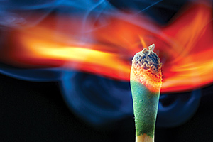 flame - Copyright – Stock Photo / Register Mark