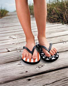 Flip-Flops - Copyright – Stock Photo / Register Mark