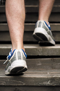 Foot in Motion - Copyright – Stock Photo / Register Mark