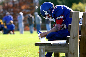 football player - Copyright – Stock Photo / Register Mark