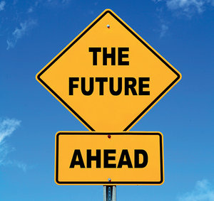 future ahead - Copyright – Stock Photo / Register Mark
