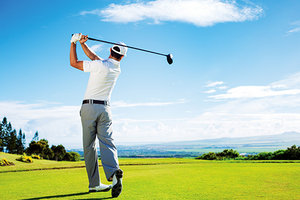 golfer - Copyright – Stock Photo / Register Mark