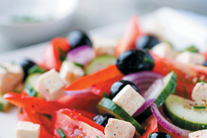 greek salad - Copyright – Stock Photo / Register Mark