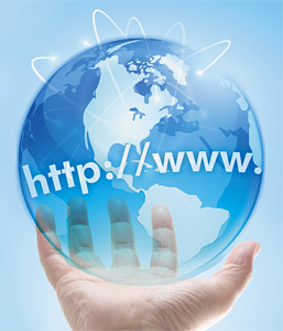 internet marketing - Copyright – Stock Photo / Register Mark
