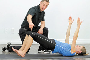 gluteal bridge exercise - Copyright – Stock Photo / Register Mark