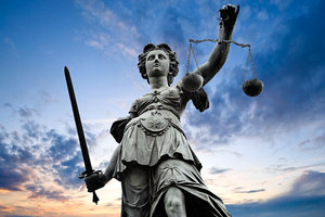 lady justice - Copyright – Stock Photo / Register Mark