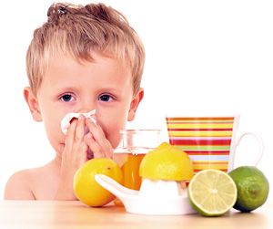 Cold and Flu Defense - Copyright – Stock Photo / Register Mark