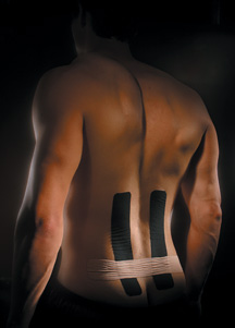 kinesio erector spinae