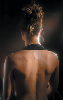 kinesio neck - Copyright – Stock Photo / Register Mark