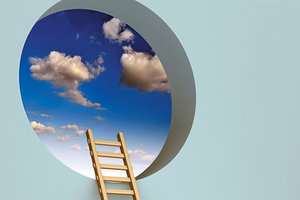 ladder of opportunity - Copyright – Stock Photo / Register Mark