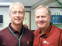 Dr. LaFountain with PGA legend Jack Nicklaus. - Copyright – Stock Photo / Register Mark
