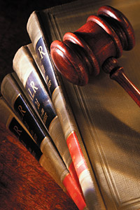 legal gavel books - Copyright – Stock Photo / Register Mark
