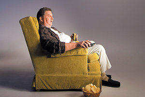 sitting too much - Copyright – Stock Photo / Register Mark