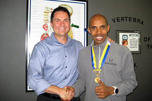 Meb Keflezighi - Copyright – Stock Photo / Register Mark