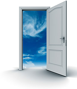 open door - Copyright – Stock Photo / Register Mark