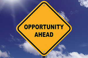 opportunity ahead - Copyright – Stock Photo / Register Mark
