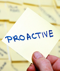 proactive - Copyright – Stock Photo / Register Mark