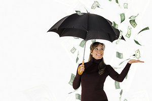 rainy day fund - Copyright – Stock Photo / Register Mark
