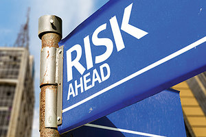 risk ahead - Copyright – Stock Photo / Register Mark