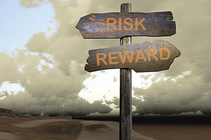 risk reward - Copyright – Stock Photo / Register Mark