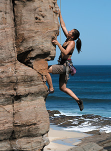 rock climber - Copyright – Stock Photo / Register Mark