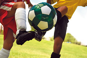 soccer game - Copyright – Stock Photo / Register Mark