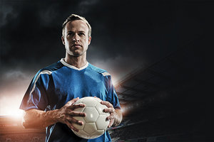 soccer player - Copyright – Stock Photo / Register Mark