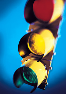 stoplight - Copyright – Stock Photo / Register Mark