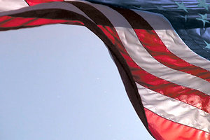 US flag - Copyright – Stock Photo / Register Mark