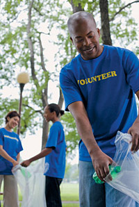 Volunteer - Copyright – Stock Photo / Register Mark