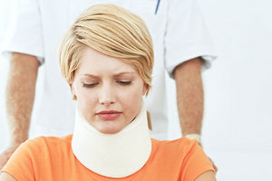 Whiplash Associated Disorder - Copyright – Stock Photo / Register Mark